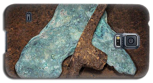 Copper Nugget Rock Hammer Galaxy S5 Case
