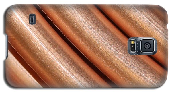Copper Pipes Galaxy S5 Case