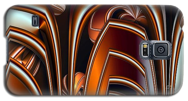 Copper Shields Galaxy S5 Case by Ron Bissett