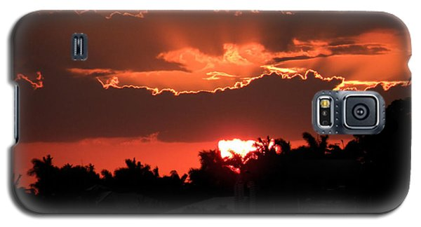 Copper Sunset Galaxy S5 Case by Rosalie Scanlon