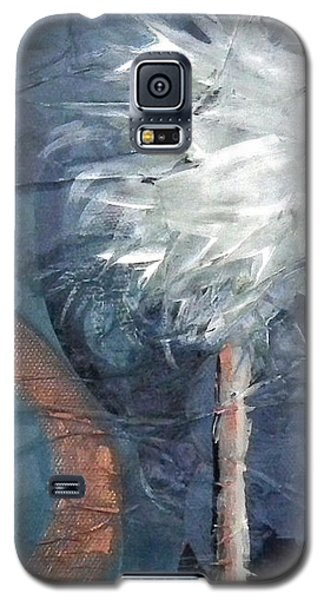 Copper Swirl Horizon Palm Galaxy S5 Case