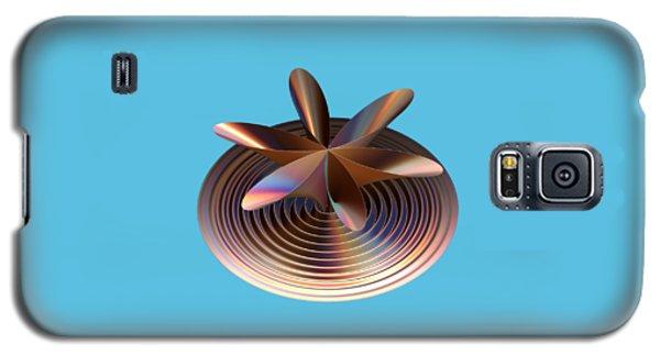 Copper Tones Galaxy S5 Case by Linda Phelps