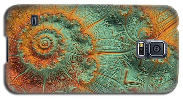 Copper Verdigris Galaxy S5 Case