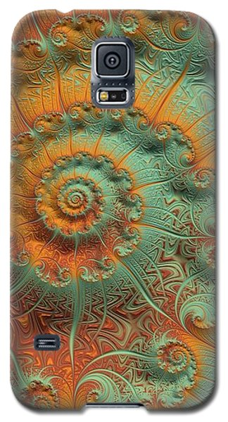 Copper Verdigris Galaxy S5 Case