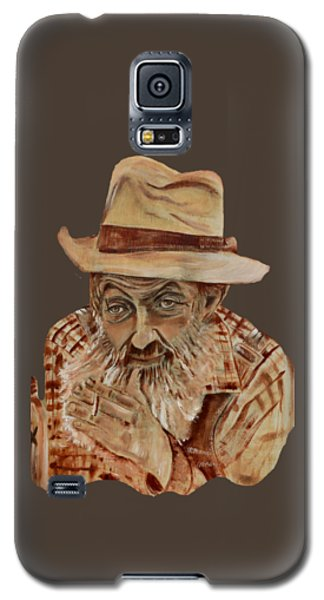 Coppershine Popcorn Bust - T-shirt Transparency Galaxy S5 Case