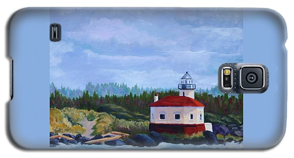 Galaxy S5 Case featuring the painting Coquille Light by Nancy Jolley