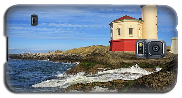 Coquille River Lighthouse At Bandon Galaxy S5 Case
