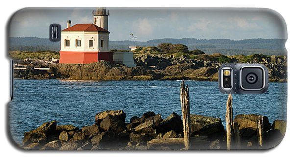 Coquille River Lighthouse Bandon Oregon Galaxy S5 Case