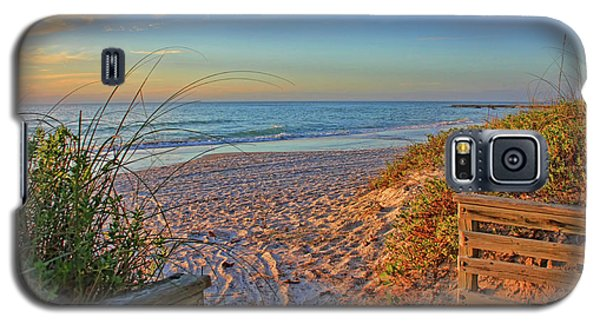 Coquina Beach By H H Photography Of Florida  Galaxy S5 Case by HH Photography of Florida