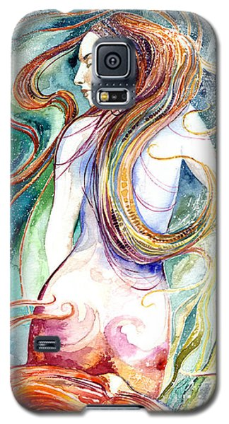 Coral Mermaid Galaxy S5 Case