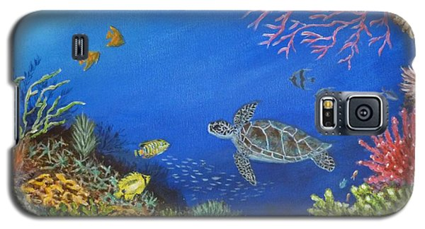 Coral Reef Galaxy S5 Case