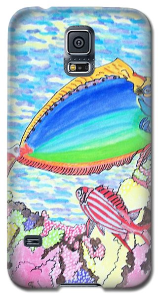 Coral Reef Galaxy S5 Case by Connie Valasco