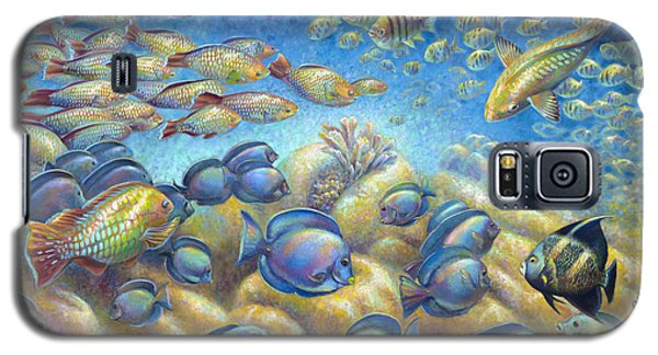 Coral Reef Life Silvers Galaxy S5 Case