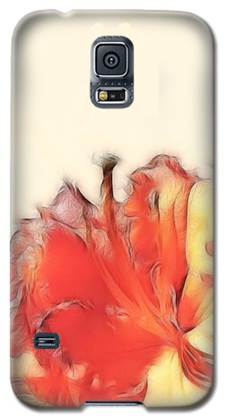 Coral Rhododendron Galaxy S5 Case