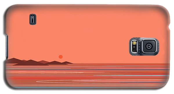 Coral Sea Galaxy S5 Case by Val Arie