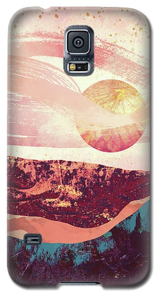 Landscapes Galaxy S5 Case - Coral Sky by Katherine Smit