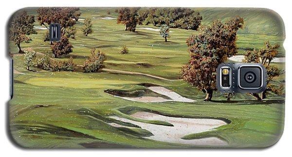 Cordevalle Golf Course Galaxy S5 Case by Guido Borelli
