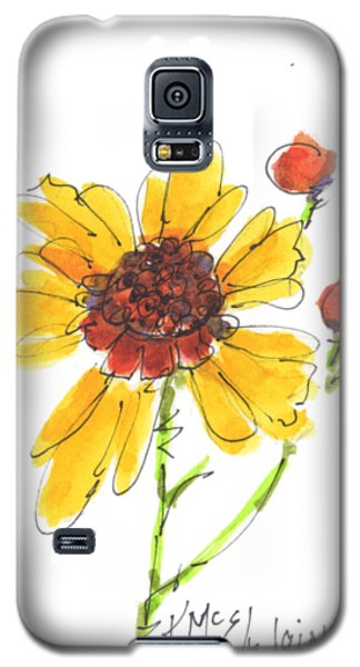 Coreopsis By Kathleen Mcelwaine Galaxy S5 Case