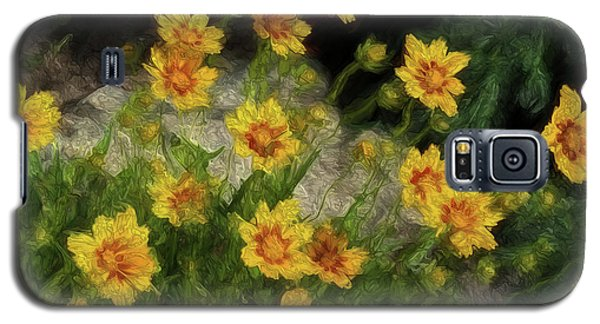 Coreopsis Tickseed Galaxy S5 Case