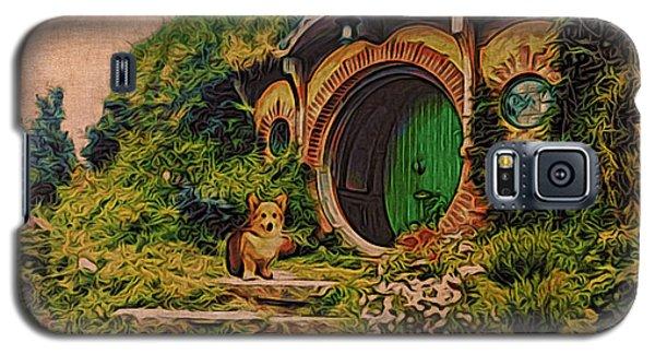 Corgi At Hobbiton Galaxy S5 Case
