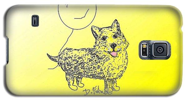 Corgi Galaxy S5 Case