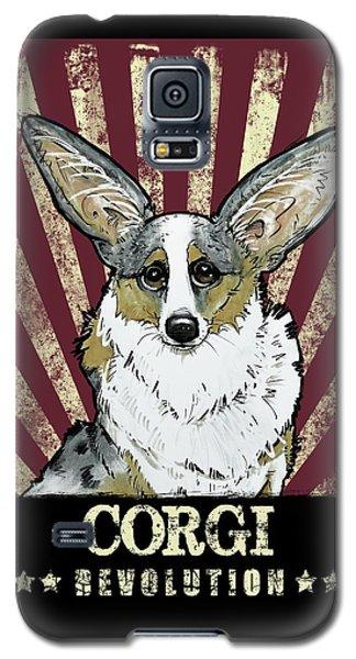 Corgi Revolution Galaxy S5 Case
