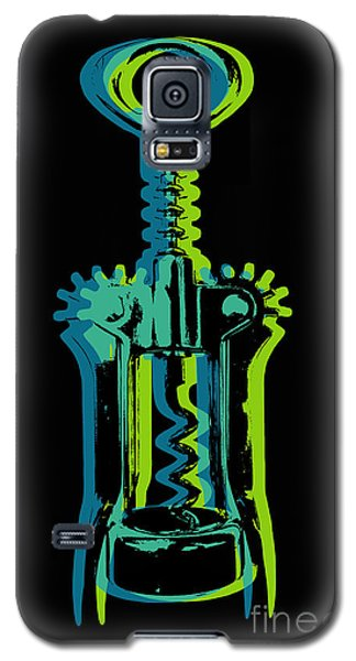 Galaxy S5 Case featuring the digital art Corkscrew by Jean luc Comperat