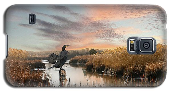 Cormorant At Sunset Galaxy S5 Case