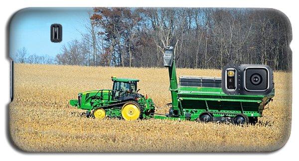 Corn Harvest Galaxy S5 Case by Bonfire Photography
