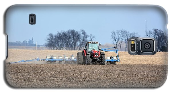 Corn Planting Galaxy S5 Case by Bonfire Photography