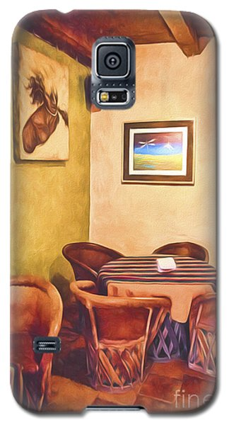 Corner Booth  ... Galaxy S5 Case by Chuck Caramella
