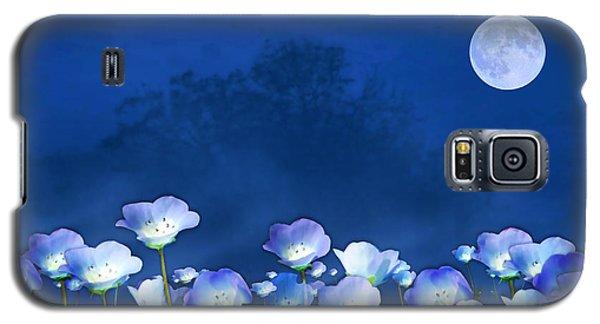 Cornflowers In The Moonlight Galaxy S5 Case