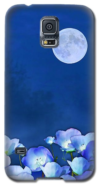 Cornflowers In The Moonlight Galaxy S5 Case