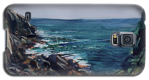 Cornish Clffs Galaxy S5 Case