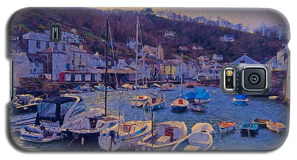 Galaxy S5 Case featuring the photograph Cornish Fishing Village by Paul Gulliver