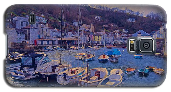 Cornish Fishing Village Galaxy S5 Case