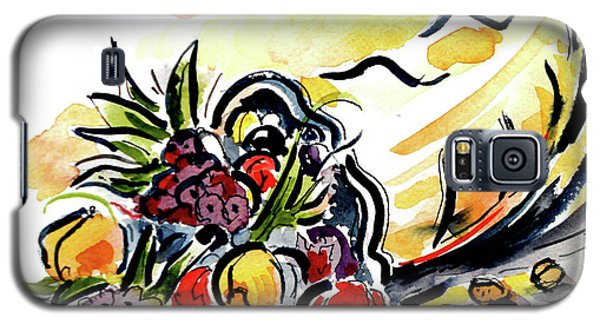 Galaxy S5 Case featuring the painting Cornucopia by Terry Banderas