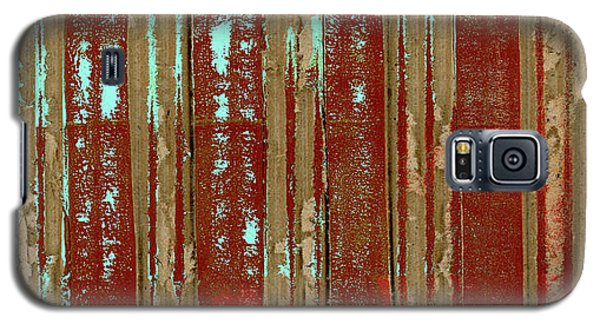 Galaxy S5 Case featuring the photograph Corrugation by Carol Leigh