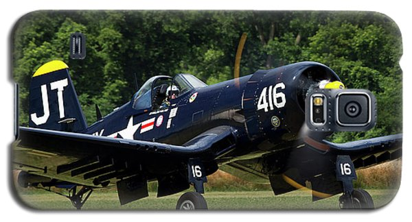 Galaxy S5 Case featuring the photograph Corsair Close-up by Peter Chilelli