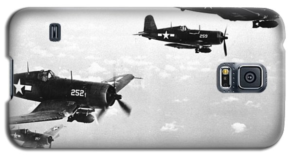 Corsair Planes  Us Airforce Galaxy S5 Case by American School
