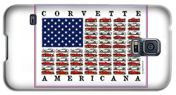 Corvette Americana Galaxy S5 Case
