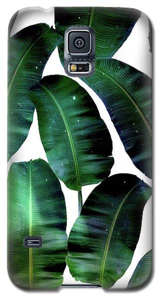 Cosmic Banana Leaves Galaxy S5 Case by Uma Gokhale
