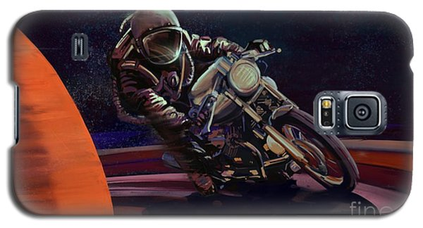 Cosmic Cafe Racer Galaxy S5 Case