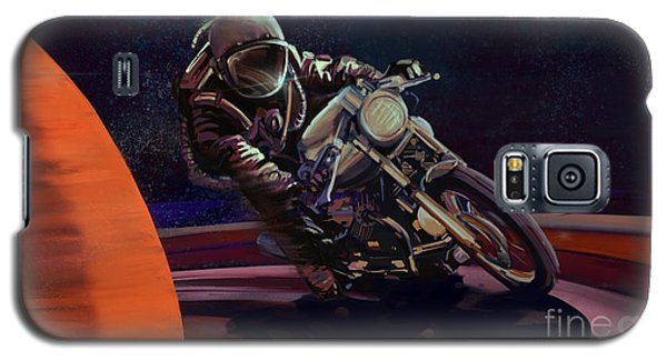 Motorcycle Galaxy S5 Case - Cosmic Cafe Racer by Sassan Filsoof