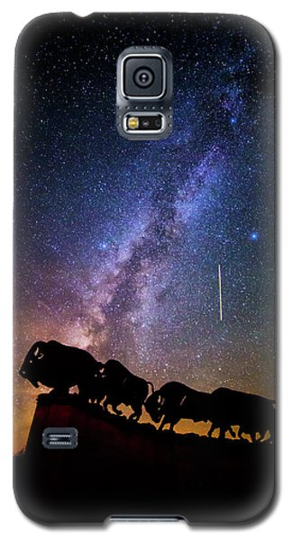 Galaxy S5 Case featuring the photograph Cosmic Caprock by Stephen Stookey