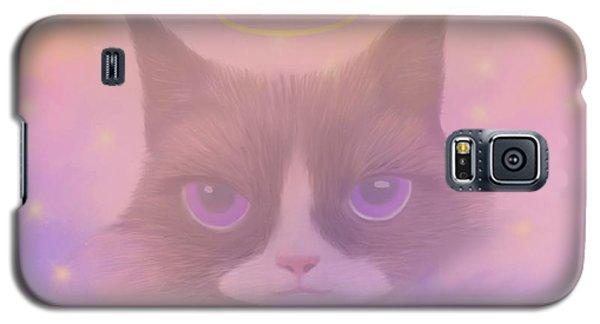 Cosmic Cat Galaxy S5 Case