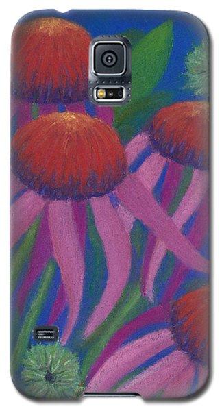 Cosmic Coneflowers Galaxy S5 Case