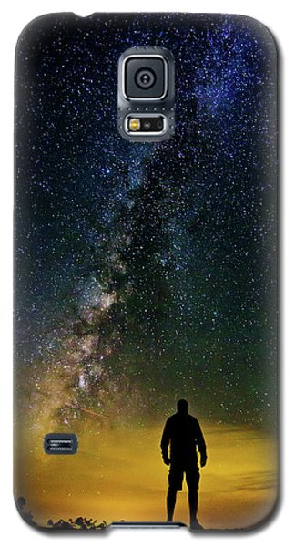 Cosmic Contemplation Galaxy S5 Case