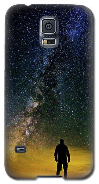 Cosmic Contemplation Galaxy S5 Case
