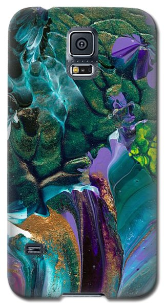 Cosmic Feathered Webbed Universe Galaxy S5 Case